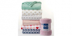 The Big One Super Soft Plush Throws Only $15.99 (reg $40) + FREE Pickup!