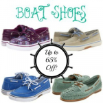 Boat Shoes Up to 69% Off + FREE Shipping!!! (Includes Sperry's Top-Siders!)