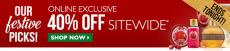 The Body Shop: 40% off Sitewide! Ends Tonight!