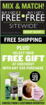 The Body Shop: Buy 3 Get 3 FREE + Free Shipping