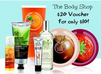 $20 The Body Shop Voucher Only $10!