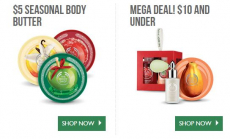 The Body Shop: Up to 75% off Sale + Free Shipping on Orders over $30 = $3 Lip Balms and more!