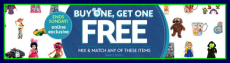 HOT! DisneyStore.com: Buy 1 Get 1 FREE Toys, Clothes, Home Decor & More LAST DAY!
