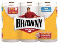 Brawny 6-Pack Paper Towels Only $2.33 Each at CVS!