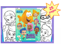 Bubble Guppies: 25 Free Coloring Pages