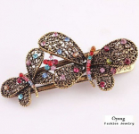 Vintage Jewelry Crystal Butterfly Bowknot Hairpins Only $3.04 Shipped!
