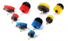 All-Purpose Power Scrubber Drill Cleaning Brush Set $13.99 (REG $31.98)