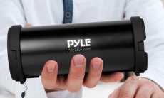 Pyle Portable Bluetooth Wireless Boombox Stereo System $17.99 (REG 48.99)