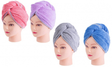 Ultra Absorbent Hair Drying Turban Towel (2-Pack) $8.99 (REG $22.49)