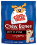 14 oz, Canine Carry Outs Beef Flavor Chew Bones -$3.92(57% Off)
