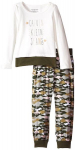 Calvin Klein Little Girls' Cream Green Top with Camo Pants only $27.99! Normally $54.50!