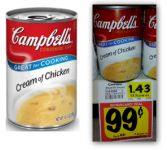 Campbells Soup Only $0.14 each at BiLo!