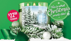 FREE Balsam 3-Wick Candle with ANY Purchase at Bath & Body Works!