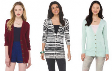 Mossimo Supply Co. Boyfriend Cardigans Only $9.50 at Target!