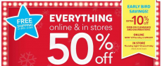 Osh Kosh & Carter's 50% off Sitewide + additional 25% off!