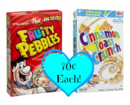 Post & General Mills Cereals Only $.70 Each at Target!