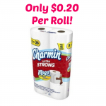 HOT! Charmin Toilet Paper Only $0.20 per Roll!