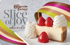 The Cheesecake Factory: 2 Free Slice of Cheesecake w/purchase!