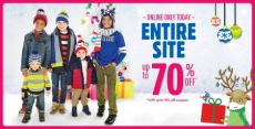 HOT! Children's Place: 60% off Everything + Up to an Extra 25% off + FREE Shipping!
