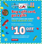 The Children's Place: Get a Free $10 Gift When you Buy Gift Cards!