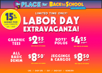 The Children's Place: 20% off Sitewide + FREE Shipping=Graphic Tees $2.40 Shipped!