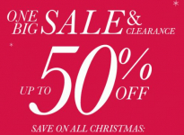 Pier 1 Imports: 50% Off Christmas Decor Plus Free Shipping!