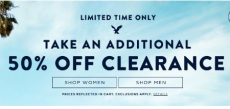 American Eagle Outfitters: Extra 50% off Clearance + FREE Shipping on ALL Orders!