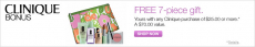 FREE Clinique Fall Gift ($70 Value) with $25 Purchase + FREE Shipping!