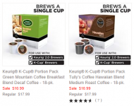 Keurig K-Cups only $0.40 per K-Cup Shipped!