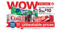 12 Packs Of Coke and Dr. Pepper Only $1.90 at Target!