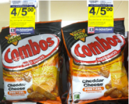 Combo Snacks Only $0.50 Each at Rite Aid!