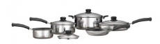 Mainstays 9-Piece Nonstick Cookware Set Only $19.88 + FREE Store Pick-Up!