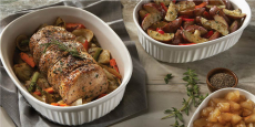 Corningware French White 10-Piece Bakeware Set Only $34.99 + FREE Pickup!