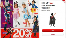 Halloween Costumes Just $10.50 at Target! (reg. $25)