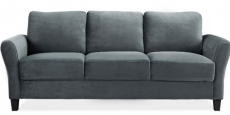 Lifestyle Solutions Alexa Rolled-Arm Sofa Just $199 Delivered!