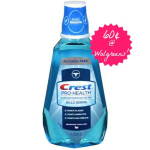 Crest Pro-Health Mouthwash Only 60¢ at Walgreens!