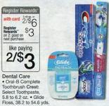 Crest Toothpaste only $.50 at Walgreens!