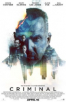 """Free Passes to Kevin Costner's New Movie """"Criminal"""" in Select Cities"""