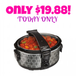 HOT! Hamilton Beach Stay-or-Go 6-Quart Slow Cooker Only $19.88 (Reg. $34.88) Today Only!