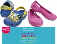 Up to $30 Off Crocs!