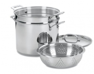 4-Piece 12-Quart Pasta/Steamer Set $67.99(55% Off)