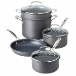 Cuisinart Chef's Classic Non-Stick Hard Anodized 8-Piece Set only $69.95 (reg $300)