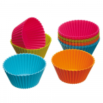 Kitchen Craft Colourworks Silicone Cupcake Liners, Pack of 12 Only $3.56 Shipped (Reg. $14.99!)