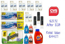 CVS Deal: 23 P&G Items for Only $25.32- Tide, Pantene, Charmin, and More!