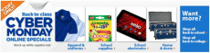 Walmart Cyber Monday Sale-Today Only! Save on School Supplies, Backpacks,and Electronics!
