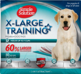 Simple Solution Extra Large Training Pads, 28″ x 30″ $22.40 (REG $59.99)