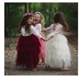 Jane Girl's Lace & Tulle Dress on sale for $38.99 (reg:$62)
