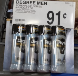 HOT! Possible 91¢ Items at Sams Club: Degree & Dove Deodorant, and More!