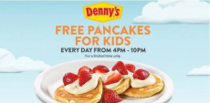 Kids Eat FREE Pancakes!