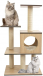 CUPETS Wooden Cat Tree, Cat Condo 50% off with Code